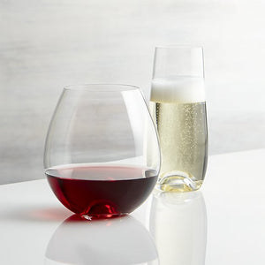 Stemless Wine and Champagne Flutes
