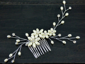 Milan Wedding Hair Comb