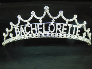 Silver Bachelorette Party Tiara