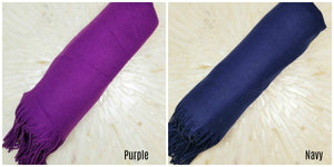 Cashmere Pashmina Shawls For Your Bridal Party In 10 Different Colors