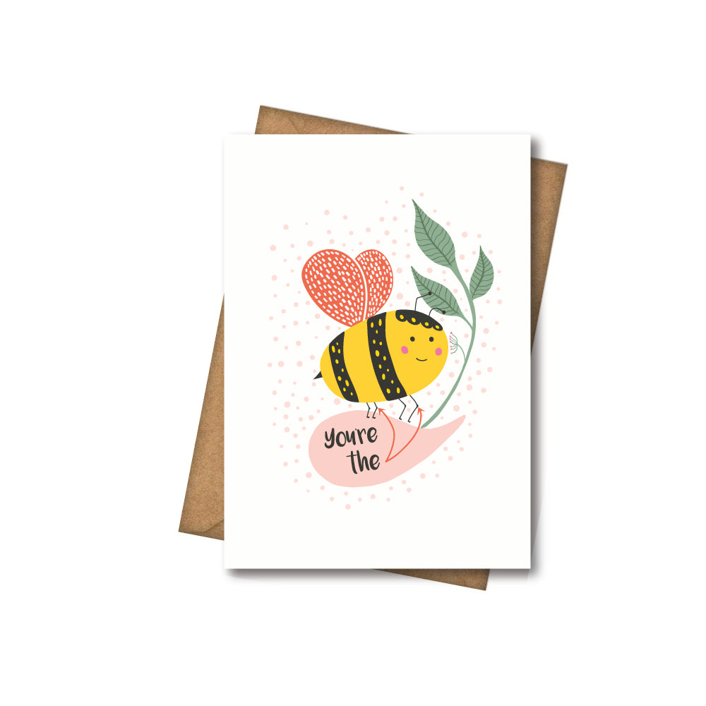 The Bees Knees - Greeting Card