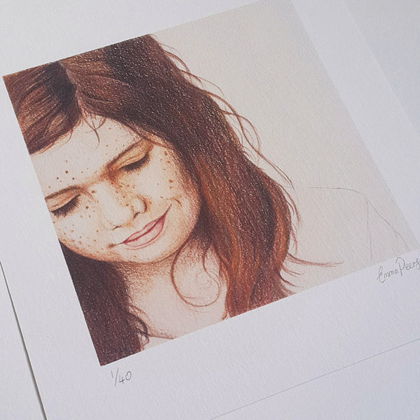 Freckles - Limited Edition Print