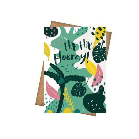 Hip Hip Hooray - Greeting Card