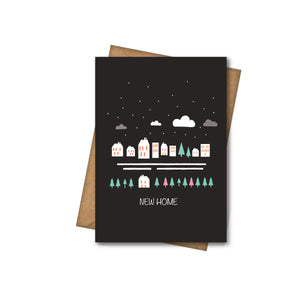 New Home - Greeting Card