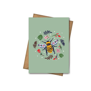 Save The Bees - Greeting Card