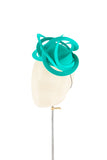 Jade Swirls - fascinator designed by Edel Ramberg - Rent The Races  - 3