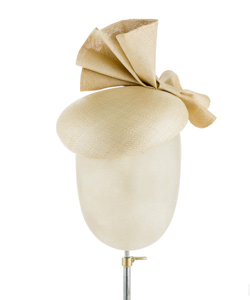 Bella Beige - fascinator designed by Rent The Races  - Rent The Races  - 1