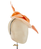 Creamsicle - fascinator designed by Couture Millinery - Rent The Races  - 2