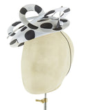 Polka Pop - fascinator designed by Edel Ramberg - Rent The Races  - 3