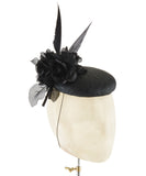 Sharp Rose - fascinator designed by Edel Ramberg - Rent The Races  - 2