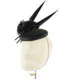 Sharp Rose - fascinator designed by Edel Ramberg - Rent The Races  - 3