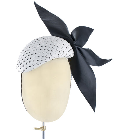 Edgy Spike - fascinator designed by Jill and Jack Millinery - Rent The Races  - 1