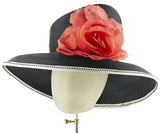 The Diana (Black) - hat designed by LD Carey Designs - Rent The Races  - 3