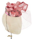 Floral Veil - fascinator designed by Olga Berg - Rent The Races  - 2