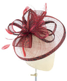 Red Leopard - fascinator designed by Dorfman Pacific - Rent The Races  - 2
