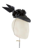 Black Widow - fascinator designed by Edel Ramberg - Rent The Races  - 2
