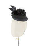Black Widow - fascinator designed by Edel Ramberg - Rent The Races  - 3