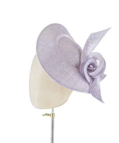 Lavender Ice - fascinator designed by Rachel Black - Rent The Races  - 1