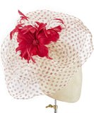 Polka Veil - fascinator designed by unknown - Rent The Races  - 2