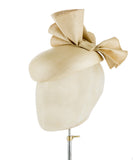 Bella Beige - fascinator designed by Rent The Races  - Rent The Races  - 2