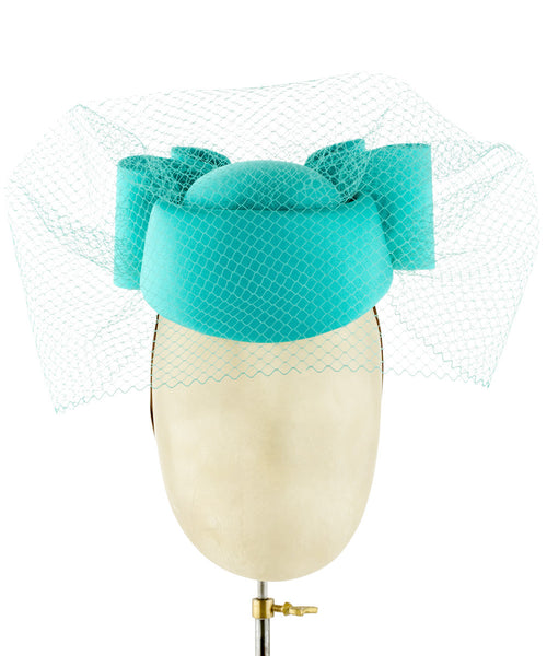 Mabel - fascinator designed by Carol Kennelly - Rent The Races  - 1