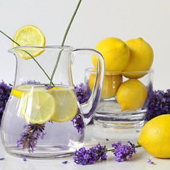 Sugar body scrub, exfoliate and hydrate your skin - Lavonmade - pairing the tartness of lemon with the softness of lavender, creating a spa-like experience through exfoliation, leaving your skin smooth.