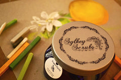 Sugar body scrub, exfoliate and hydrate your skin - Orange Blossom - Rejuvenate your skin with the tangy citrus scent of sun-kissed orange groves.