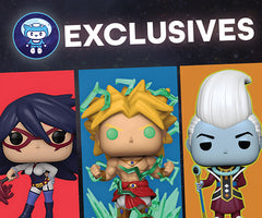 Galactic Toys Funko Exclusives