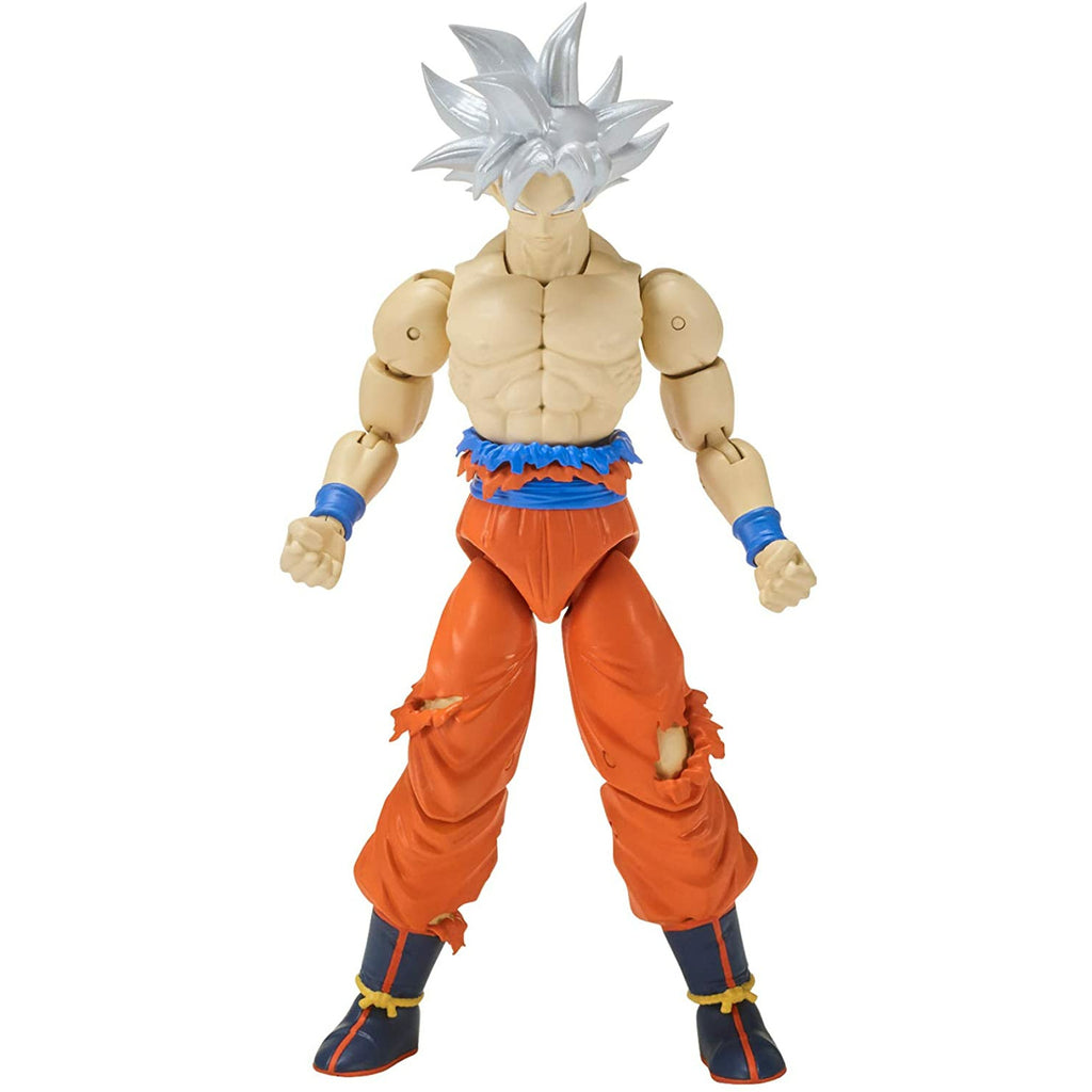 Bandai Dragon Ball Super Stars Ultra Instinct Goku Action Figure