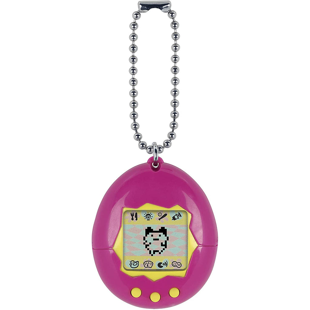 Bandai Tamagotchi Original Pink/Yellow Virtual Pet Device Electronic Game