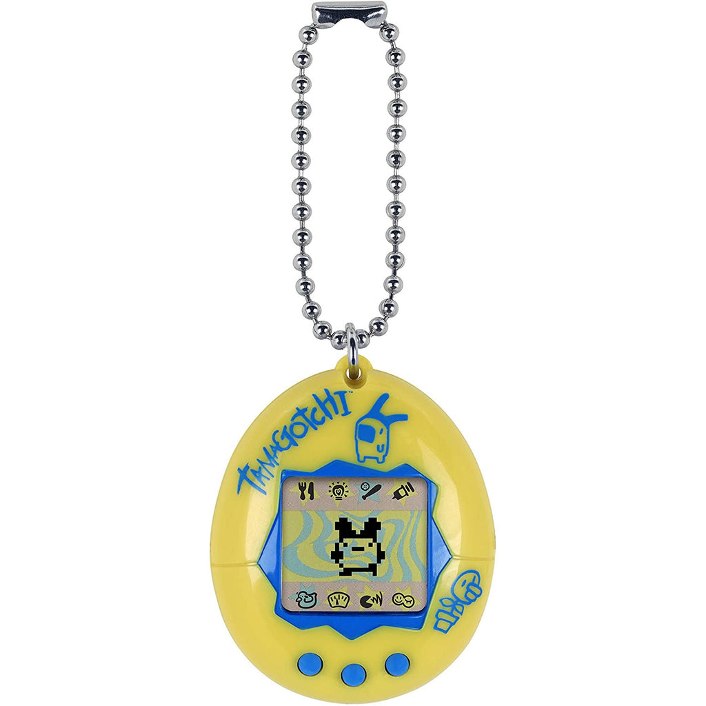 Bandai Tamagotchi Original Yellow/Blue Virtual Pet Device Electronic Game