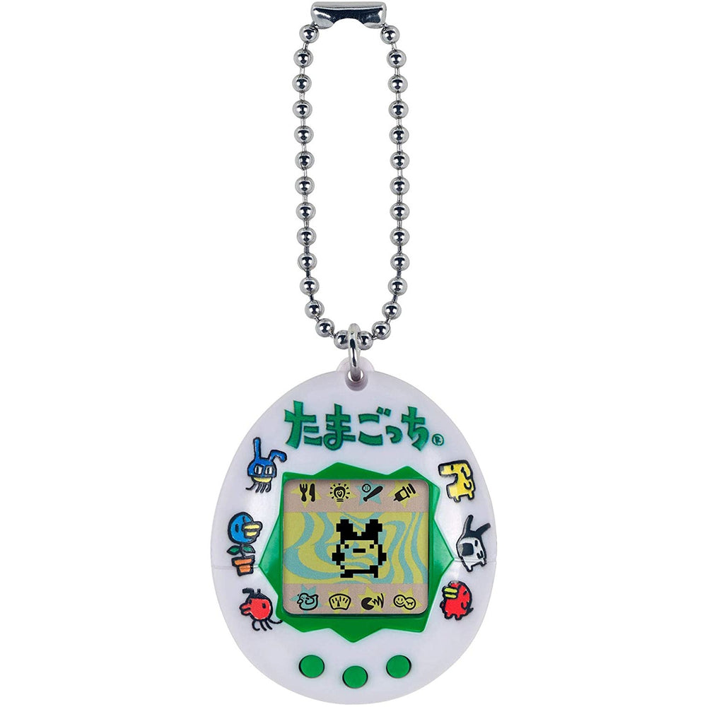 Bandai Tamagotchi Original Japanese Logo Virtual Pet Device Electronic Game