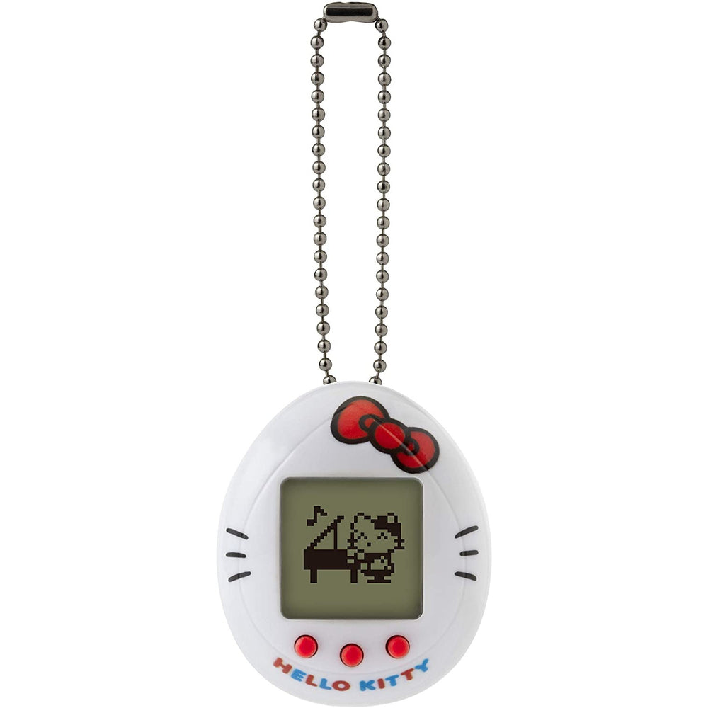 Bandai Hello Kitty Tamagotchi Nano Digital Virtual Pet - White