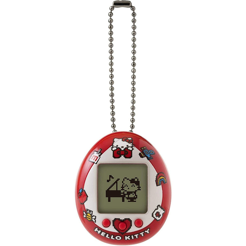 Bandai Hello Kitty Tamagotchi Nano Digital Virtual Pet - Red