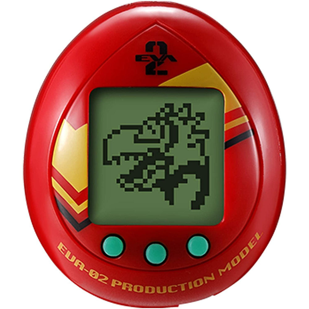 Bandai Tamagotchi Evangelion Evatchi Asuka EVA-02 Virtual Pet Device (March 2021 PRE-ORDER)