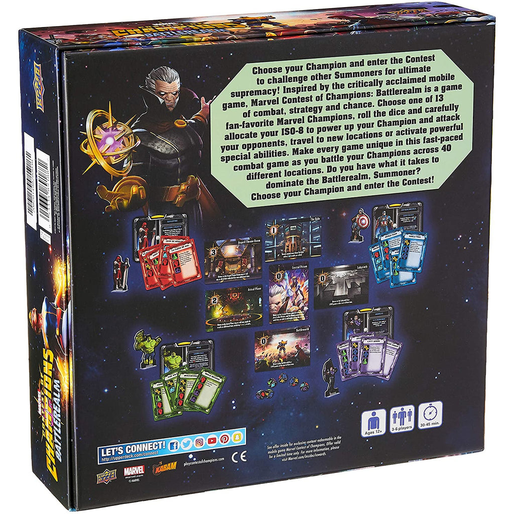 Upper Deck: Marvel Contest of Champions - Battlerrealm Board Game