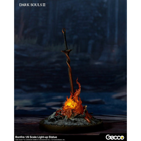 Gecco Dark Souls III 3 Bonfire 1/6 Scale Light-up Statue (October 2019 Pre-order)