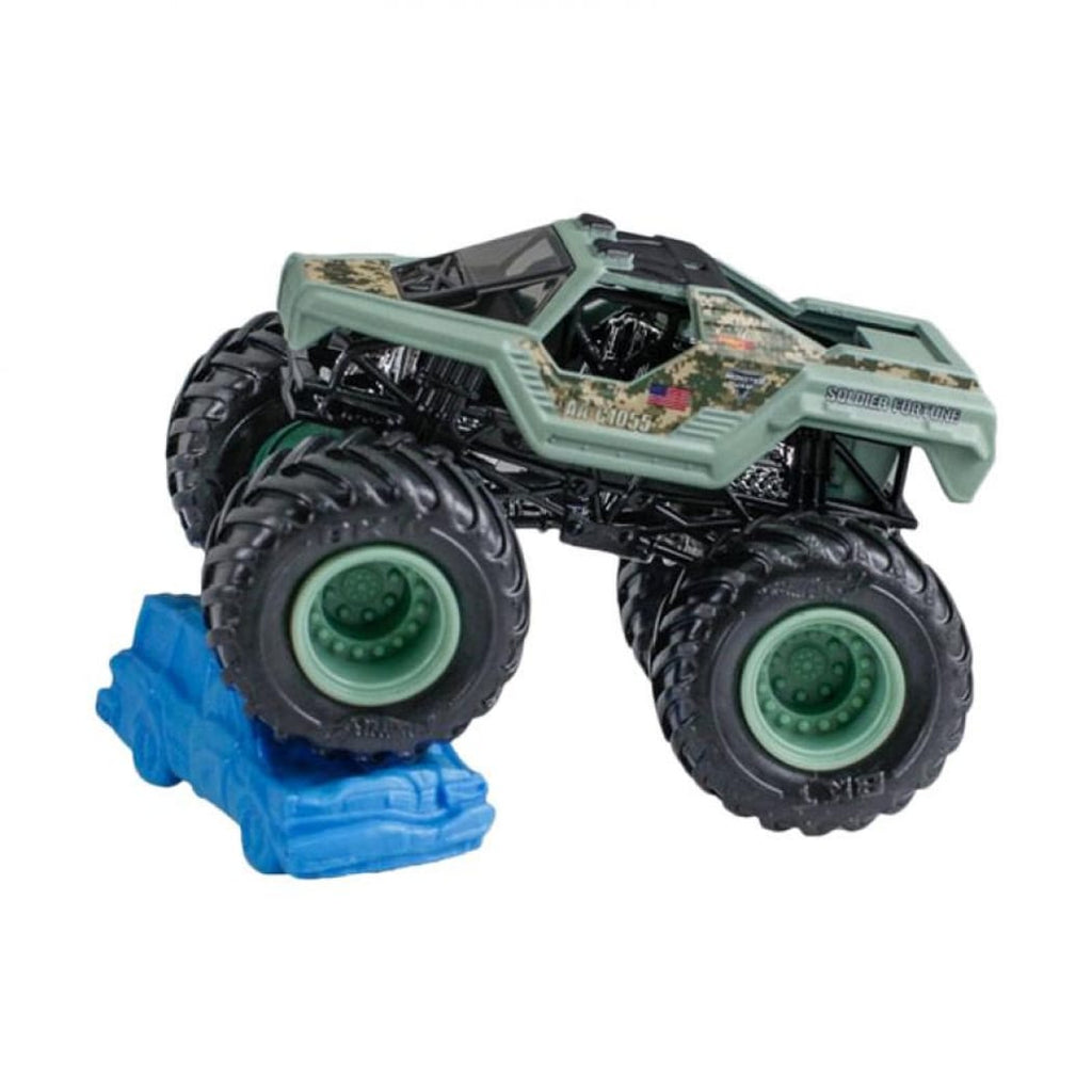 Hot Wheels Monster Jam Monster Truck with Re-Crushable Car (styles may vary)