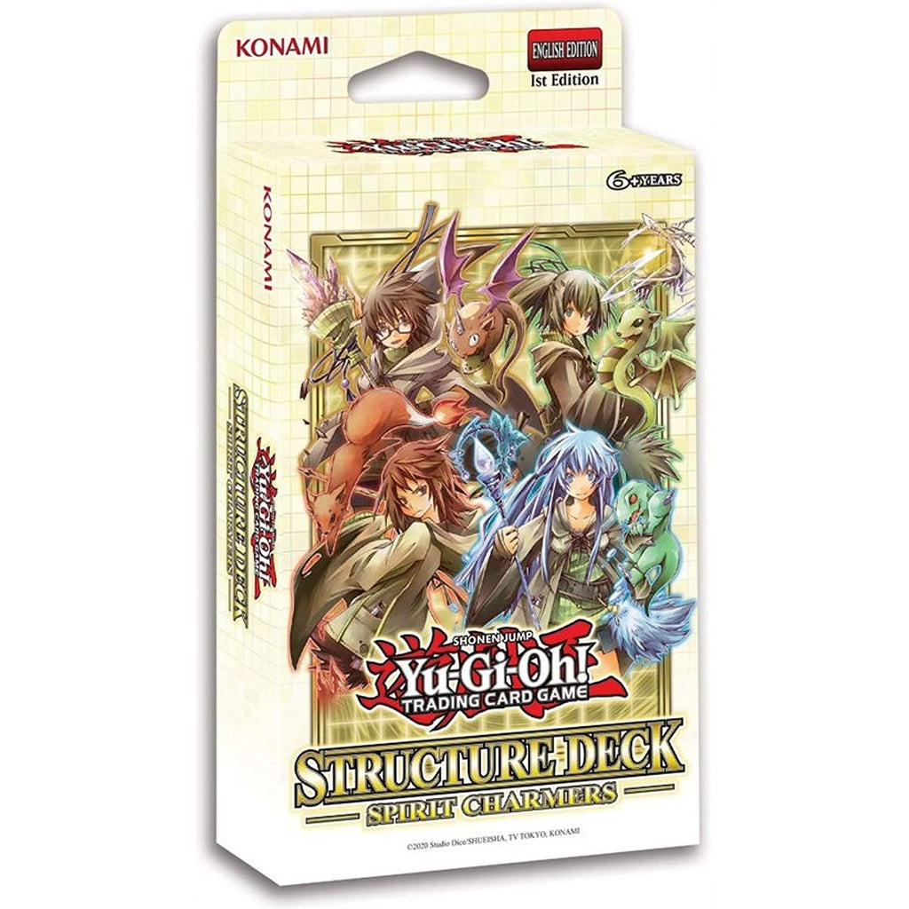 Yu-Gi-Oh! Trading Cards Spirit Charmers Structure Deck, Multicolor