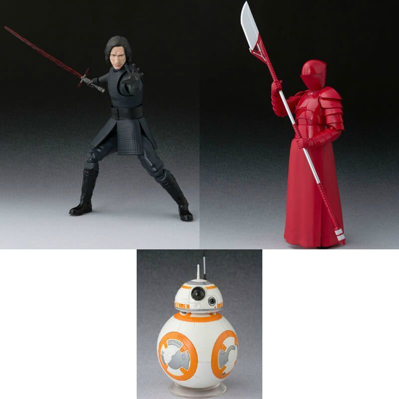 Bandai SH Figuarts Star Wars Kylo Ren Praetorian Guard BB-8 Bundle Action Figure | Galactic Toys & Collectibles