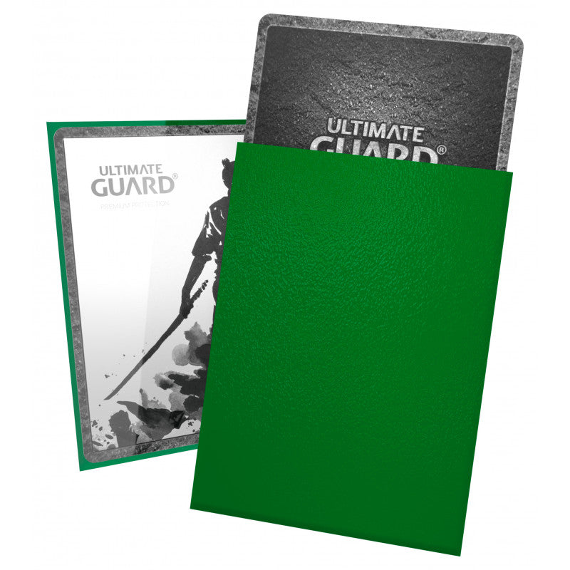 Ultimate Guard Katana Sleeves (100ct) Standar Size - Green