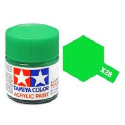 Tamiya 81528 X-28 Park Green Acrylic Paint 10ml