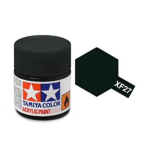 Tamiya 81727 XF-27 Black Green Acrylic Paint 10ml