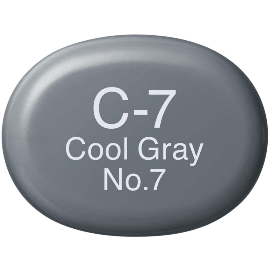 Copic Sketch Marker Cool Grays, Cool Gray C7