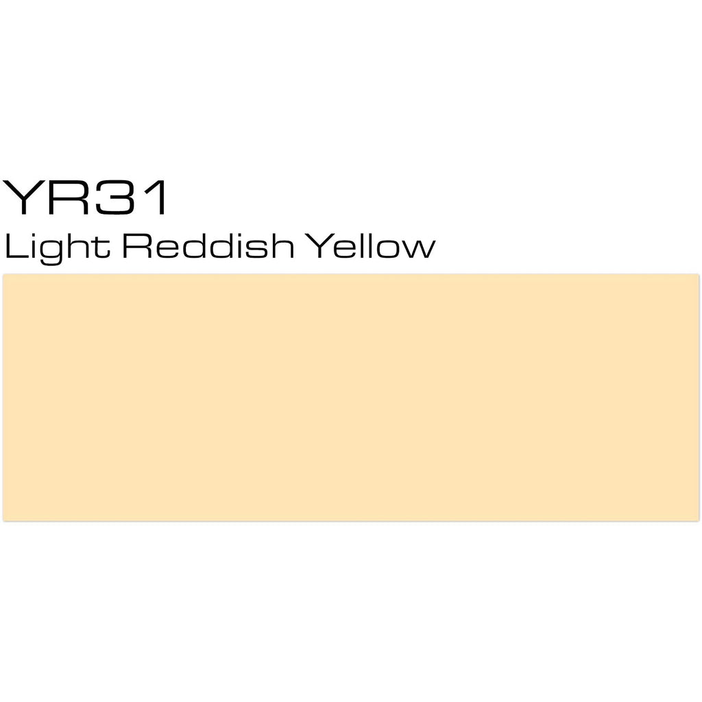 Copic Sketch Marker Yellow Reds, Light Reddish Yellow YR31