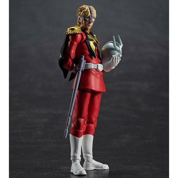 (PRE-ORDER October 2021) MegaHouse G.M.G. Gundam Zeon Soldier 06 Char Aznable Action Figure