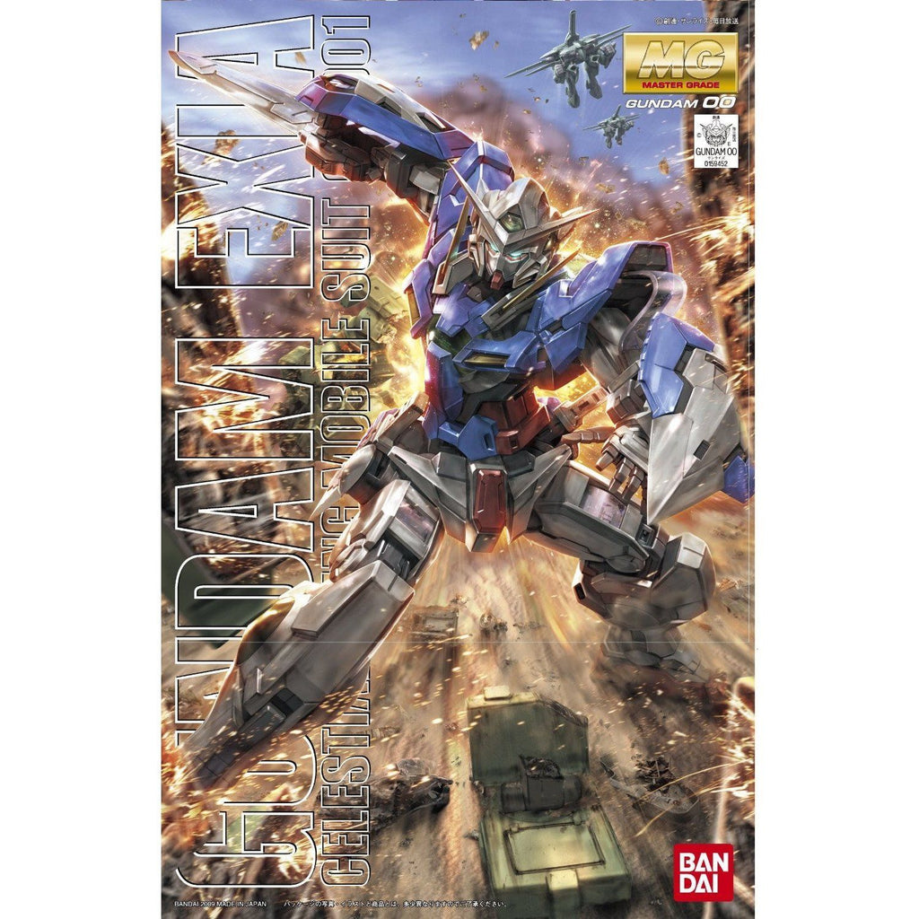 Bandai Hobby Gundam 00 EXIA Bandai Master Grade MG 1/100 Model Kit | Galactic Toys & Collectibles