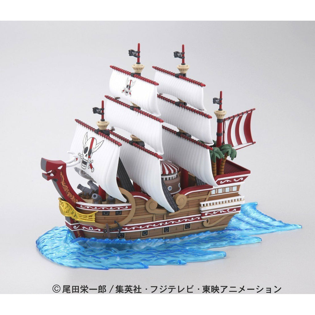 Bandai Hobby One Piece Red Force Grand Ship Collection Plastic Model Kit