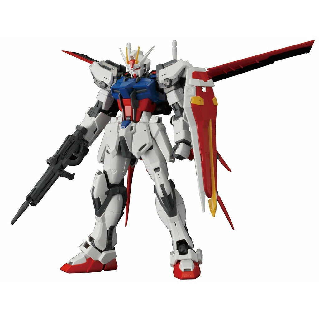 Bandai Hobby SEED Aile Strike Gundam Ver. RM  MG 1/100 Model Kit | Galactic Toys & Collectibles