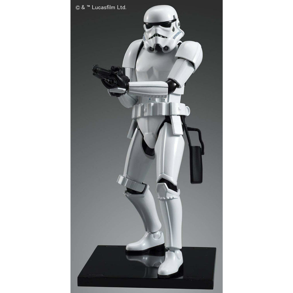 Bandai Hobby Star Wars Stormtrooper 1/12 Scale Action Figure Model Kit